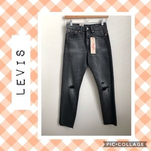 NWT Levi's Wedgie Fit Red Line Selvedge Jeans 👖